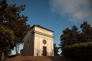 Cappella prima apparizione del Santuario della Madonna della Guardia di Genova