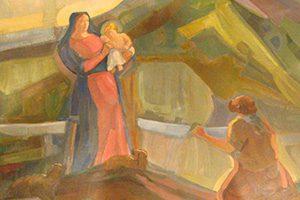 Cappella seconda apparizione del Santuario della Madonna della Guardia di Genova