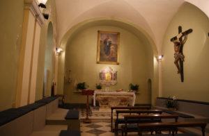 Cappella invernale della basilica del Santuario della Madonna della Guardia di Genova