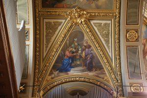 Transetto della Basilica della Madonna della Guardia di Genova