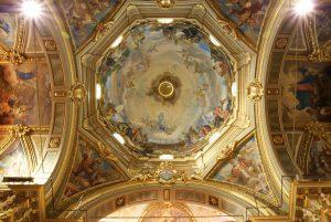 Cupola della Basilica del Santuario della Madonna della Guardia di Genova