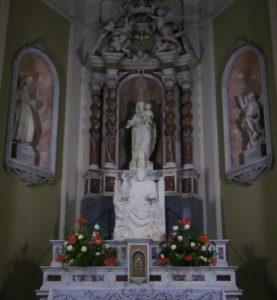 Cappella del transetto sinistro della basilica del Santuario della Madonna della Guardia di Genova
