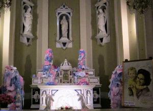Cappella del transetto destro della basilica del Santuario della Madonna della Guardia di Genova