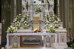 Altare Maggiore della Basilica del Santuario della Madonna della Guardia di Genova