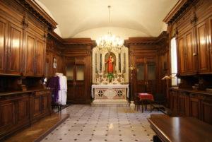 Sacrestia della basilica del Santuario della Madonna della Guardia di Genova